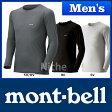 モンベル ジオライン L.W.ラウンドネックシャツ メンズ #1107486 [ モンベル mont bell mont-bell | モンベル ジオライン メンズ ラウンドネック ]