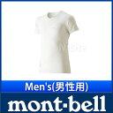 モンベル ジオライン L.W.VネックTシャツ Men's #1107489 [ モンベル montbell mont-bell | モンベル ジオライン | ...