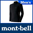 モンベル ジオライン EXP.ハイネックシャツ Men's #1107520 [ モンベル montbell mont-bell | モンベル ジオライン tシャツ | アンダーウェア メンズ | ヒート インナー ]