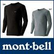 モンベル ジオライン M.W.ラウンドネックシャツ Men's #1107525 0824楽天カード分割