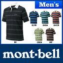 モンベル WIC.ラガーシャツ ハーフスリーブ Men's #1104780 [ モンベル mont bell mont-bell | メンズ ウイックロン トレッキング ファッション ][男性用]