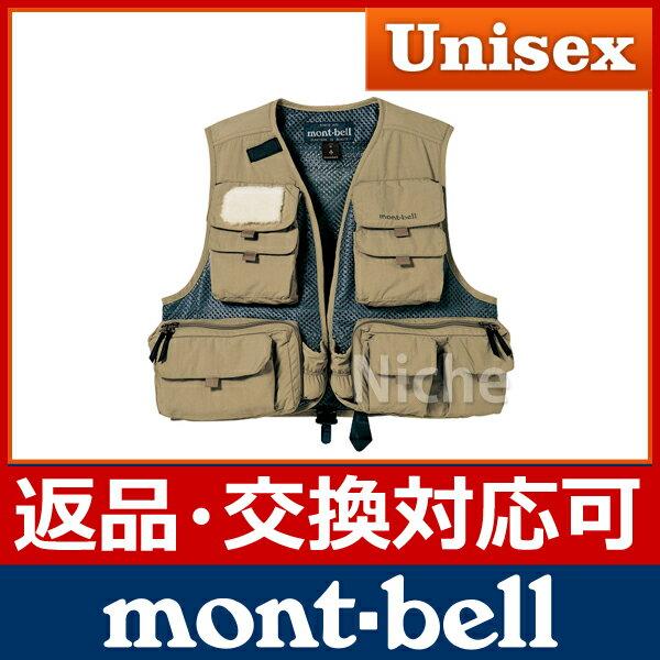 モンベル フィッシングメッシュベスト #1126137 【返品・交換対応可】[ mont-bell モンベル ]