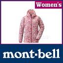 モンベル ウインドブラストプリントパーカ Women's (ローズ) #1103265(ROSE)