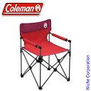 コールマン(Coleman) カップホルダー付きスリムチェア (レッド) 2000010513 コー...