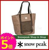 スノーピーク トートバック M [ UG-071R ] [ スノー ピーク ShopinShop | キャンプ 用品 オートキャンプ 用品| SNOW PEAK ]【】[P5]
