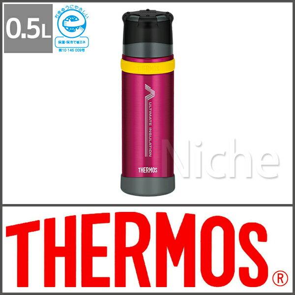 サーモス ステンレスボトルバーガンディーFFX-500 BGD