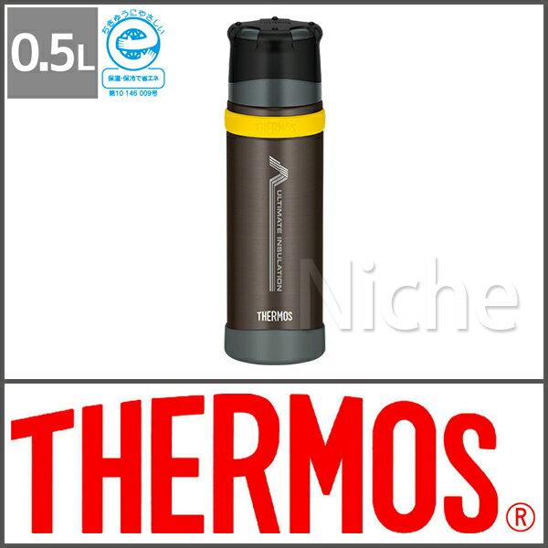 サーモス ステンレスボトルブラックFFX-500 BK
