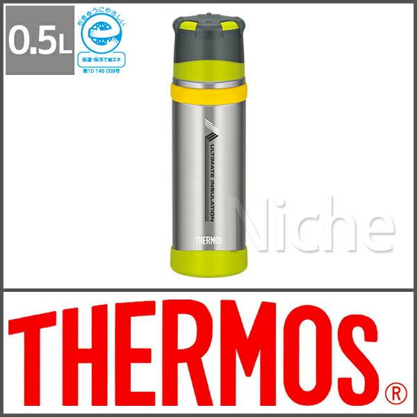 サーモス ステンレスボトルライムグリーンFFX-500 LMG