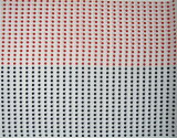 祭りてぬぐい赤×紺(豆絞り)100本組 長さ90センチ 巾33〜35センチ (沖縄、離島は別運賃)