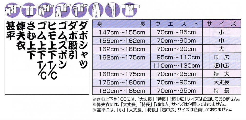 江戸一ゴムズボン大人用-無地染(黒)-1 サイ...の紹介画像2