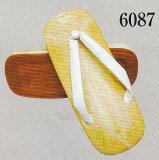 祭り用品履物草履厨房用アメ底ビニール表6087 3L