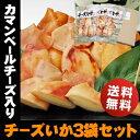 ハロウィン チーズとイカのハーモニー♪北海道名産 カマンベール入りチーズいか×3袋おつまみ 珍味 おやつ【RCP】【送料無料】チーズお…