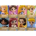 送料無料 新品 Qposket Disney Characters Q posket petit Girls Festival vol.2 全8種セット キューポスケット プチ ディズニー フィ..