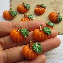 カボチャアクリルパーツ/1個販売 かぼちゃ パンプキン
