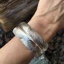 ボヘミアンフェザー バングル アームレット 腕輪 ブレスレット 二の腕 にのうで 腕に巻く 手首に巻く アクセサリー 手 インディアンジ..