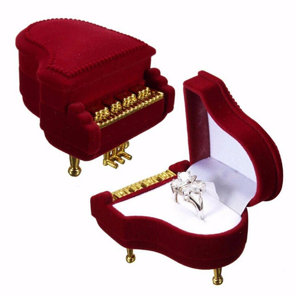 ピアノギフトケース楽器オルガンエレクトーンオーケストラおもしろラッピングボックス指輪リングピアスイヤ