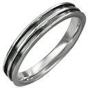 ビートルステンレスリング(ORA044)サイズ/12号 ブラック 黒色 ステンレスリング 指輪 サージカルステンレス316L 低アレルギー メンズ レディース ペアリング プレゼント ギフト 結婚 婚約 記念日 誕生日 ピンキーリング ファランジリング