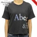 アバクロ Tシャツ 正規品 Abercrombie&Fitch 半袖Tシャツ クルーネック Exploded Logo Tee 157-576-0124-901 敬老の日 プレゼント