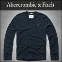 アバクロ Abercrombie&Fitch 正規品 メンズ 長袖Tシャツ MOOSE CREEK TEE 124-236-0537-023