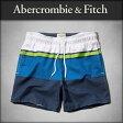 アバクロ Abercrombie&Fitch 正規品 メンズ スイムパンツ 水着 CAMPUS FIT SWIM SHORTS 5 INSEAM 133-350-0452-030 10P07Feb16