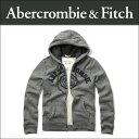 アバクロ Abercrombie&Fitch 正規品 メンズ ジップアップパーカー APPLIQUE LOGO GRAPHIC HOODIE 122-243-0001-012