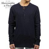 アバクロ Abercrombie&Fitch 正規品 メンズ 長袖Tシャツ LONG-SLEEVE WAFFLE HENLEY 121-701-0484-200