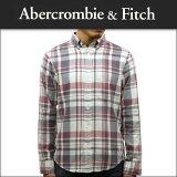 アバクロ Abercrombie&Fitch 正規品 メンズ ワークシャツ BLEACH WASH TWILL SHIRT 125-168-2756-208