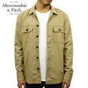 アバクロ Abercrombie&Fitch 正規品 メンズ アウター シャツジャケット MILIT