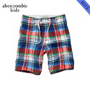 【25%OFFセール 3/16 10:00〜3/19 9:59】 アバクロキッズ AbercrombieKids 正規品 子供服 ボーイズ 水着 classic board shorts 233-691-0110-029