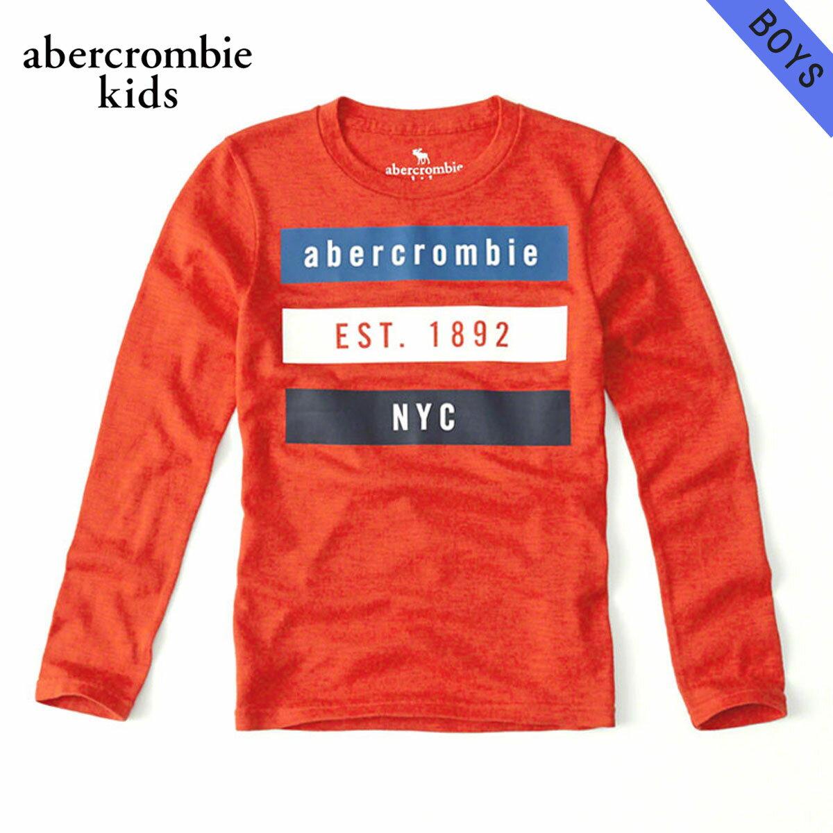 アバクロキッズTシャツボーイズ子供服正規品AbercrombieKids長袖Tシャツlong-sle