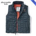 アバクロキッズ AbercrombieKids 正規品 子供服 ボーイズ ダウンベスト quilted vest 232-722-0258-023