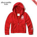 アバクロキッズ パーカー ガールズ 子供服 正規品 AbercrombieKids shine logo full-zip sweatshirt 252-771-0322-050