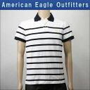AMERICAN EAGLE アメリカンイーグル 正規品 メンズ ポロシャツ Polo ホワイト 10P13Jun14