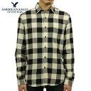 アメリカンイーグル シャツ メンズ 正規品 AMERICAN EAGLE 長袖シャツ ネルシャツ EO Factory Plaid Flannel Shirt 0513-8895 D20S30