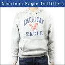 【スーパーDEAL商品 5/27 10:00〜5/29 9:59】 アメリカンイーグル AMERICAN EAGLE 正規品 メンズ パーカー AEO Factory Signature Hooded Pop Over 1515-6054