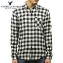アメリカンイーグル シャツ メンズ 正規品 AMERICAN EAGLE 長袖シャツ ボタンダウンシャツ AEO CLASSIC PLAID SHIRT 2153-9833-001
