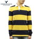 ショッピングアメリカンイーグル アメリカンイーグル ラガーシャツ メンズ 正規品 AMERICAN EAGLE 長袖ラガーシャツ AE LONG SLEEVE RUGBY POLO SHIRT 0176-8931-700