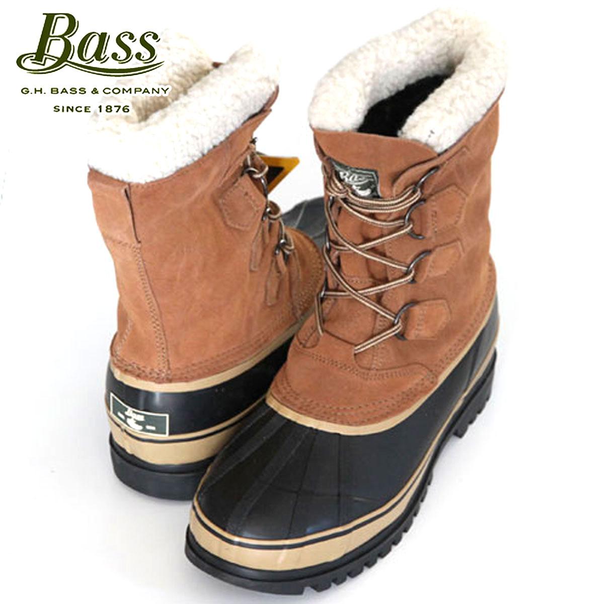 バス G.H.BASS 正規品 メンズ ビーンブーツ Bean Boots SUSQUATCH 2105-261 BROWN D25S35
