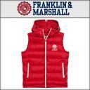 【ポイント10倍 02/26 10:00〜03/01 09:59まで】 フランクリン マーシャル FRANKLIN&MARSHALL 正規販売店 メンズ ベスト DOWN VEST PA…