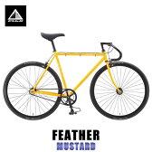 フジ FUJI 正規販売店 2015 自転車 FEATHER (SINGLE SPEED) MUSTARD P20Aug16