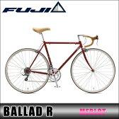 フジ FUJI 正規販売店 自転車 2016 BALLAD R MERLOT P20Aug16