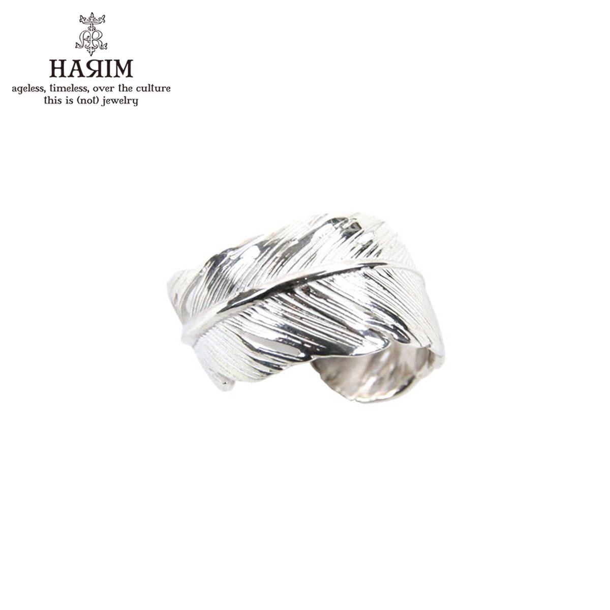ハリム HARIM 指輪 リング HARIM FEATHER RING 2 SVWH HRR040 WH SILVER 925 【対応】 送料無料 A82B B3C C3D D8E E32F