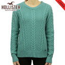 ショッピングホリスター ホリスター セーター レディース 正規品 HOLLISTER Cable Crew Sweater 350-507-0569-230 D20S30