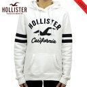 ホリスター パーカー レディース 正規品 HOLLISTER プルオーバーパーカー ロゴ Logo Graphic Hoodie 352-524-0369-100