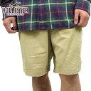 【20%OFFセール 7/14 20:00〜7/21 1:59】 ホリスター HOLLISTER 正規品 メンズ ショートパンツ SHORT PANTS カーキ