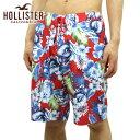 ショッピングホリスター 【販売期間 4/18 10_00〜4/21 09_59】 ホリスター 水着 メンズ 正規品 HOLLISTER スイムパンツ Floral Print Classic Fit Swim Shorts