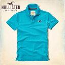 ホリスター HOLLISTER 正規品 メンズ 半袖ポロシャツ Contrast Icon Polo SLIM FIT 321-364-0508-230