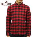 ホリスター HOLLISTER 正規品 メンズ ボタンダウン長袖シャツ Stretch Poplin Slim Fit Shirt 325-259-2062-508