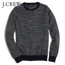 【ポイント20倍 12/3 19:00〜12/8 1:59】 ジェイクルー J.CREW 正規品 メンズ セーター STRIPE COTTON CREWNECK SWEATER 20P03Dec16