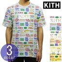 キス KITH 正規品 メンズ クルーネック プリント 半袖Tシャツ KITH TREATS 3D TEE KH3258